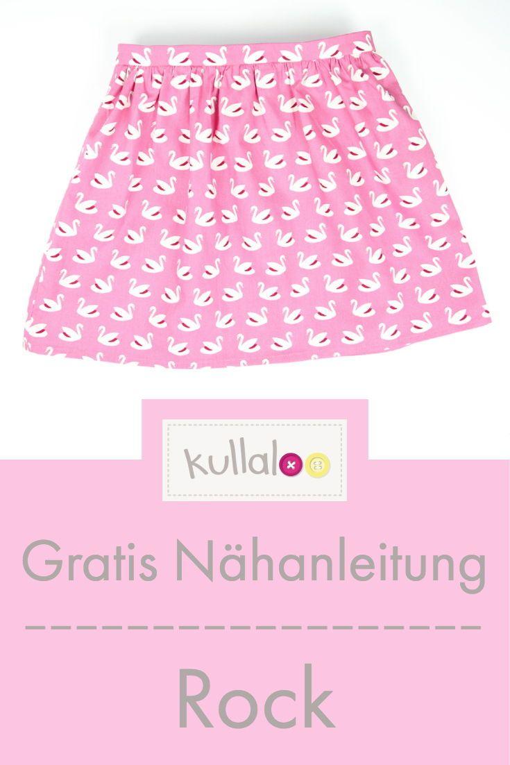 Coudre la jupe sans motif de couture   – Nähen Kind ♥ sewing kids
