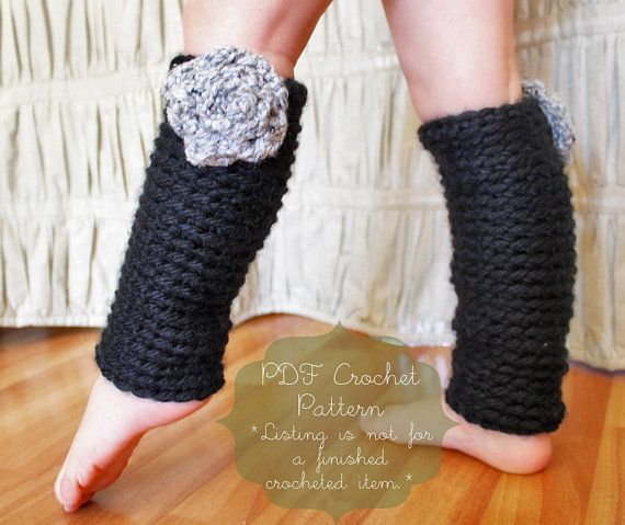 Crochet Pattern The Chelsea Leg Warmers Toddler Child And Adult