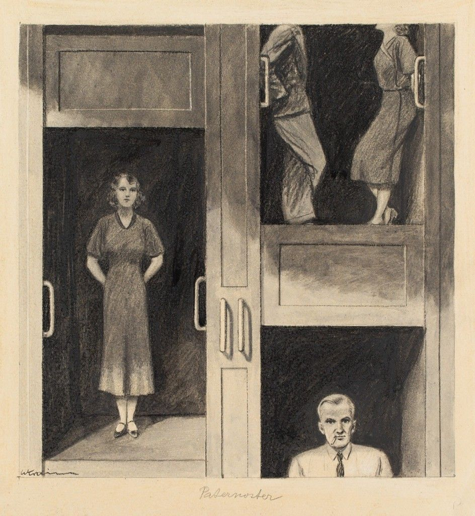 Willibald Krain - Paternoster, um 1928