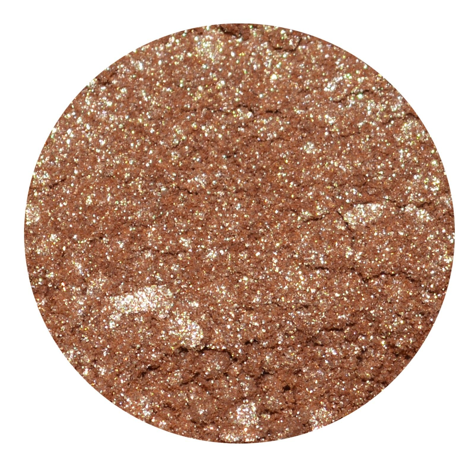 Honeybee Gardens, PowderColors Stackable Mineral Color, Satin Sheets.The Palest of Sparkly Peaches with Gold Highlights.These beautiful loose powders can be used as eyeshadows, eyeliners, blushes, and even mixed with our Clear Water Colors Nail Enamel to create custom polish colors! PowderColors is totally vegan!