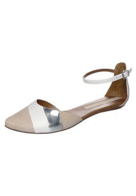 Sandaalit nilkkaremmillä - veg coco-spec silver