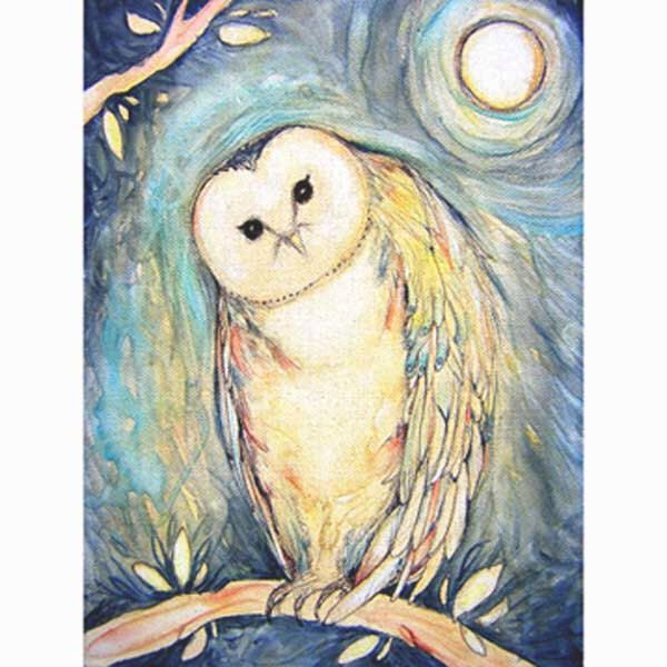 Blue owl art print from the original painting original barn owl art totem animal picture by ArtSoulCreations on Etsy https://www.etsy.com/listing/186577486/blue-owl-art-print-from-the-original