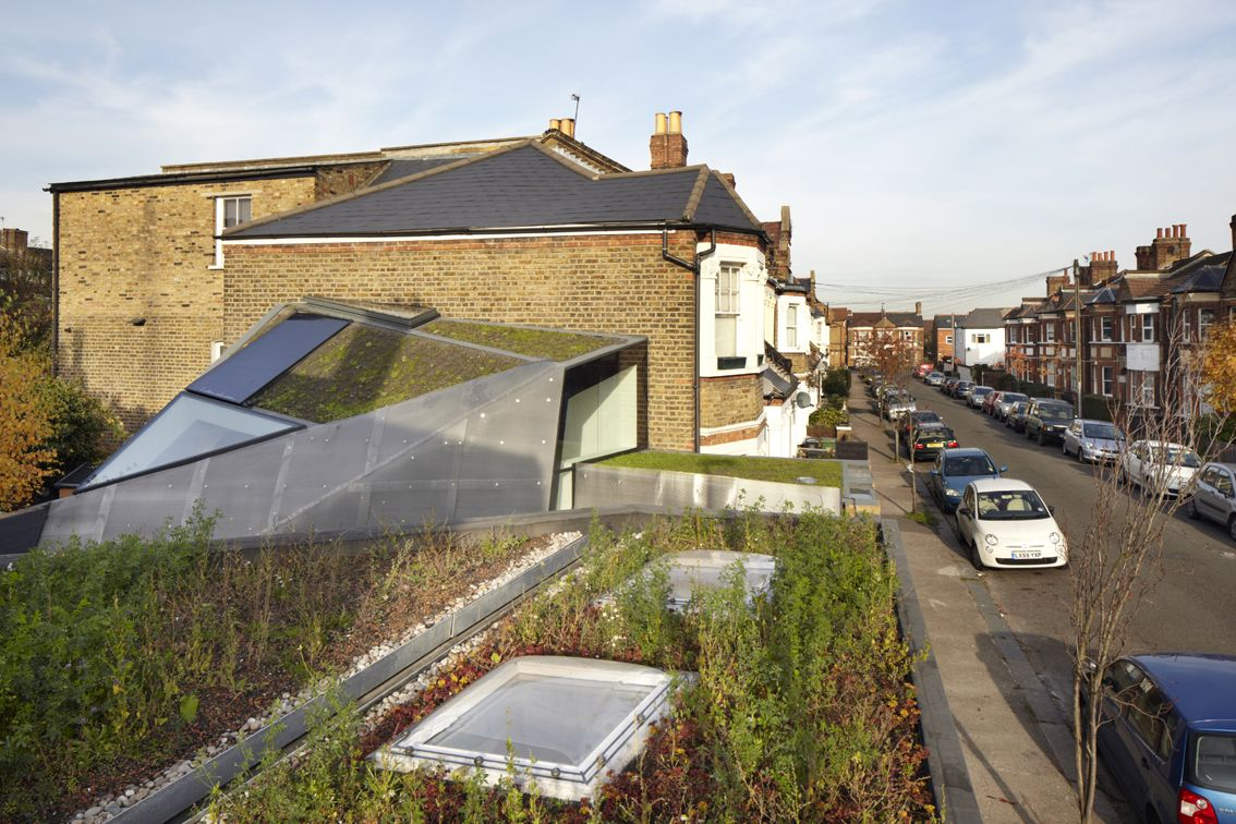 Sustainable Office Extension With Out-of-the-box Features For A London Home