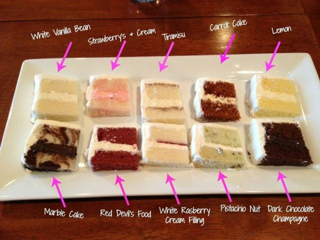 Wedding Cake Tasting Top 10 Flavors! I could totally for a cake tasting right no... Wedding Cake Tasting Top 10 Flavors! I could totally for a cake tasting right no... -  -