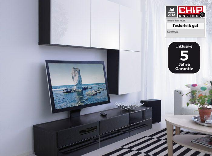 Ikea Uppleva Televisie : BestÅ uppleva tv aufbewahrungskombination schwarz weiß