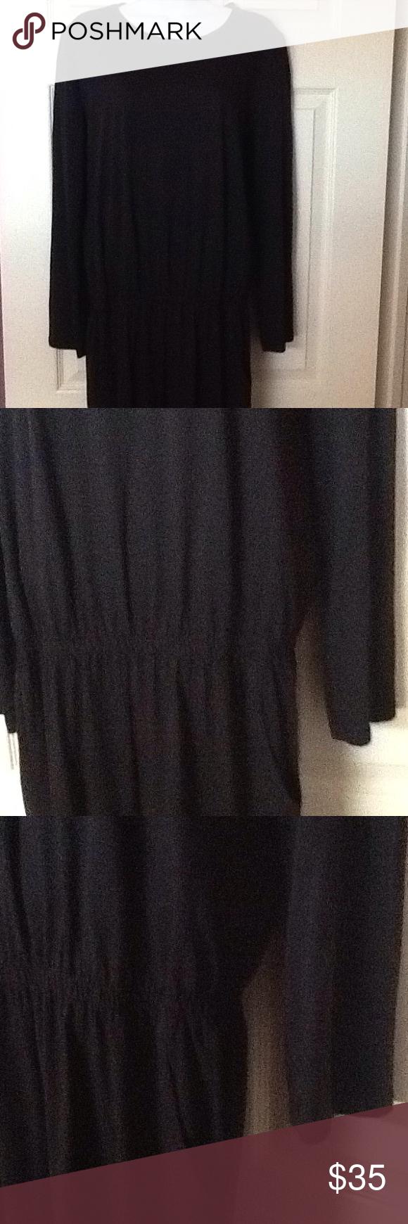 6803d193357 Zara Size M washable cotton black jumpsuit In excellent condition Zara Size  M washable cotton black jumpsuit with long sleeves