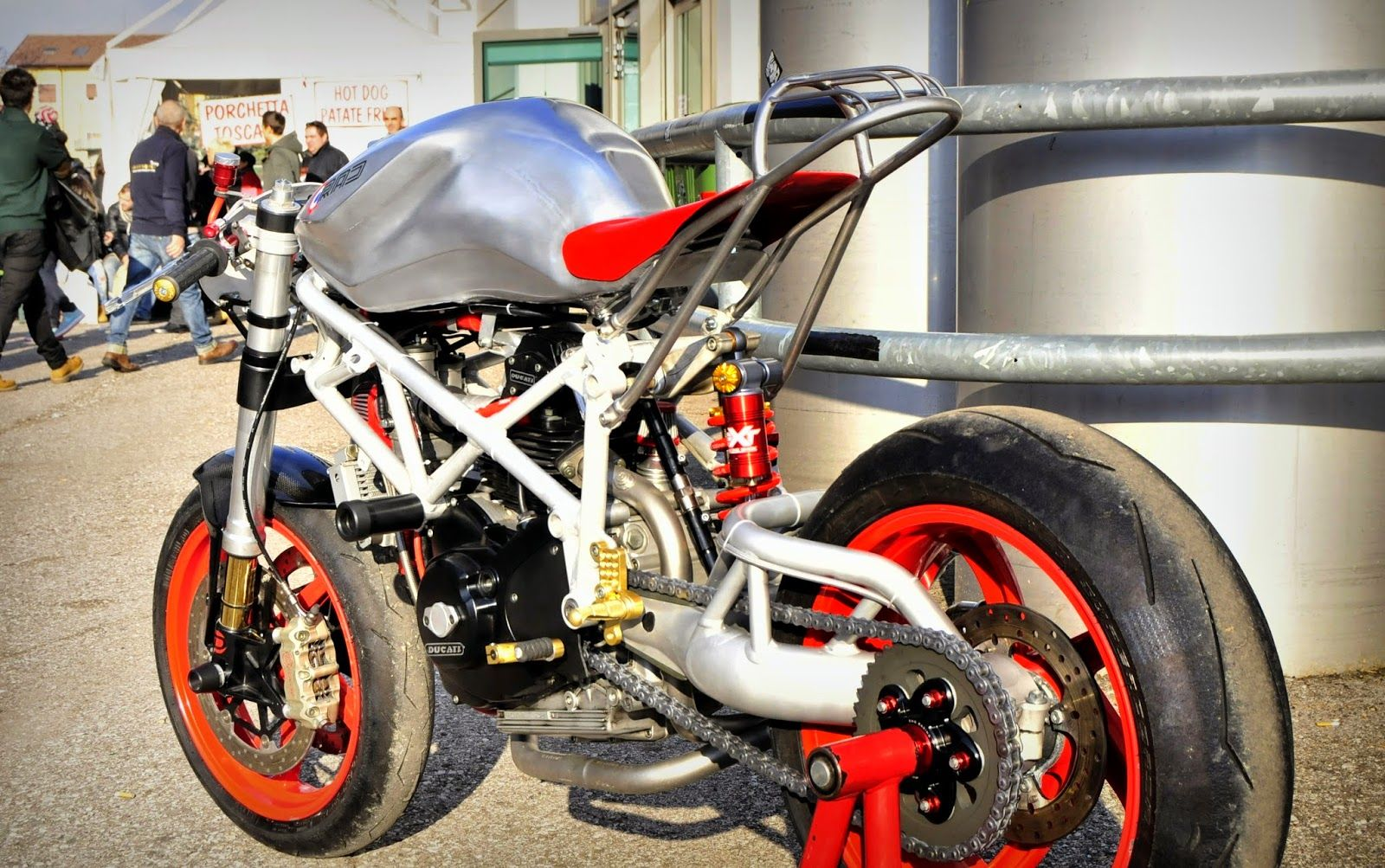 Return of Radical Ducati - RocketGarage Cafe Racer
