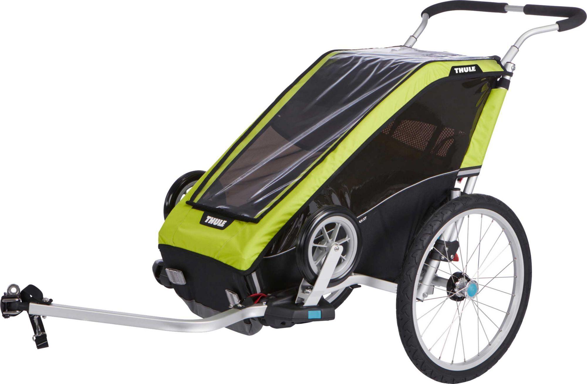 Thule Chariot Cheetah Xt 1 Single Bike Trailer And Stroller Thule Chariot Bike Trailer Jogging Stroller