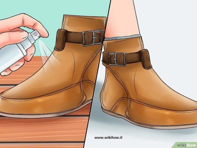 Come allargare le scarpe strette in pelle e camoscio