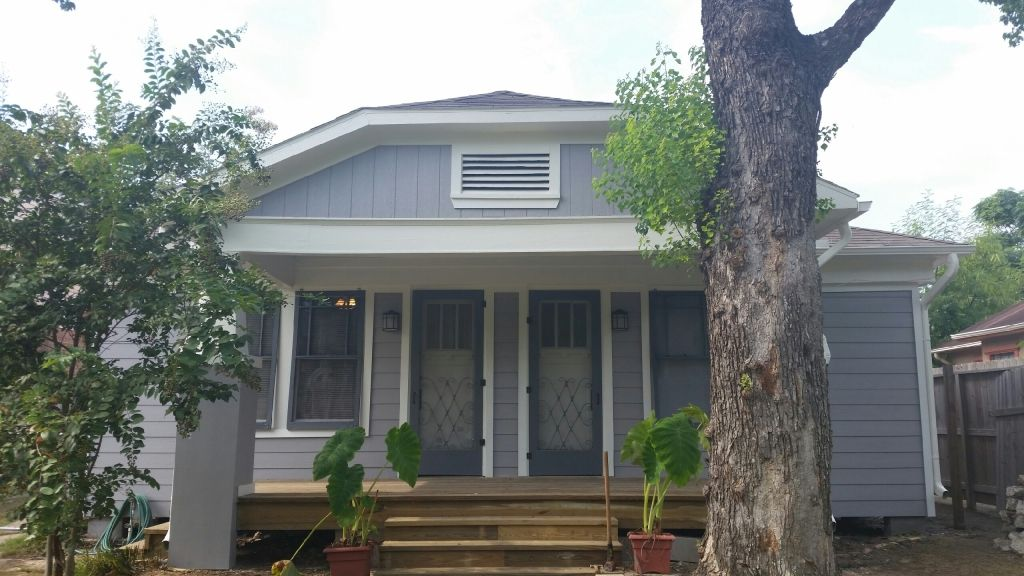 New Siding, Porch and Paint in Houston, TX near UofH ...