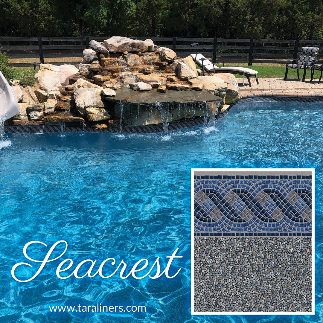 New Seacrest Liner Pattern From Tara Liners Pool Liners Pool