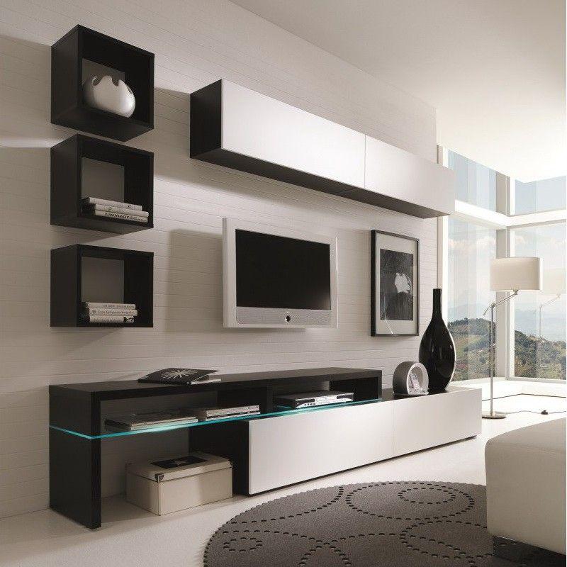 Creative Furniture AMSTERDAM CS Wall Unit Wall Units - Creative colorful tv unit