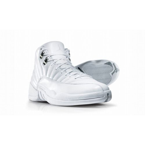 Air Jordan 12 Silver Anniversary Collection Neutral Grey Metallic Silver