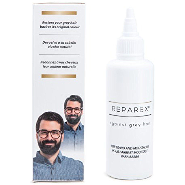 Gray Hair Treatment Formula For Mustache And Beard For Men Hair