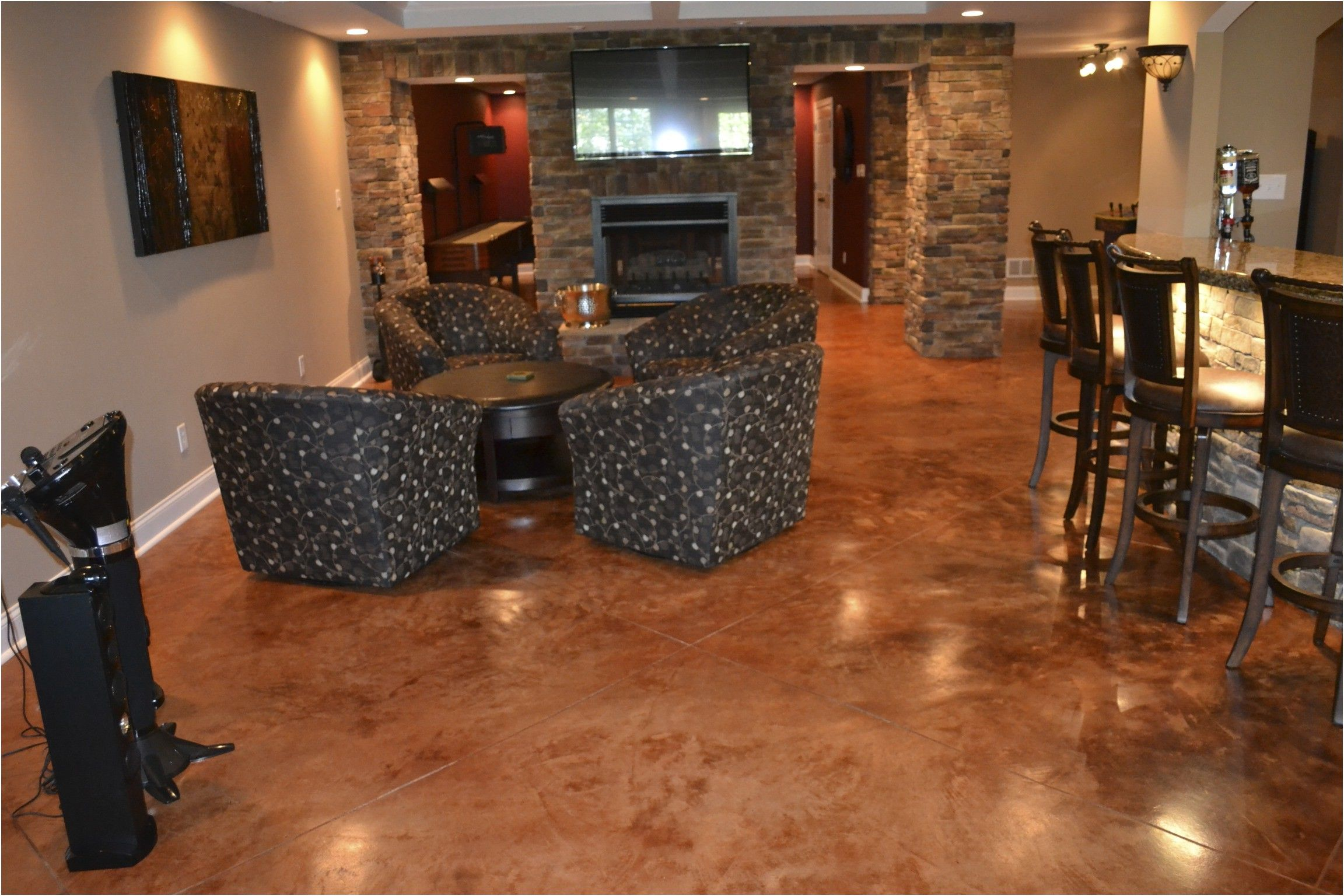 Luxury Cost Of Concrete Basement