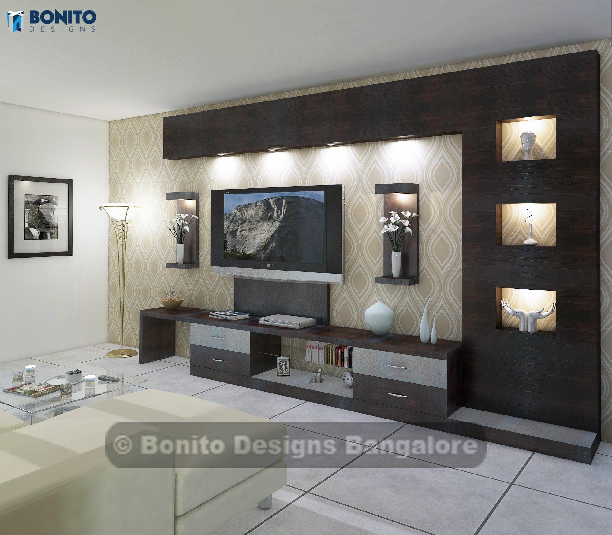 CENTRO DE ENTRETENIMIENTO | Home in 2019 | Tv wall decor, Modern tv ...