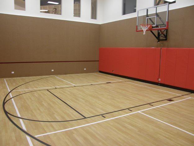 Planning An Indoor Home Court Indoor Basketball Court Sport Court Indoor Sports Court