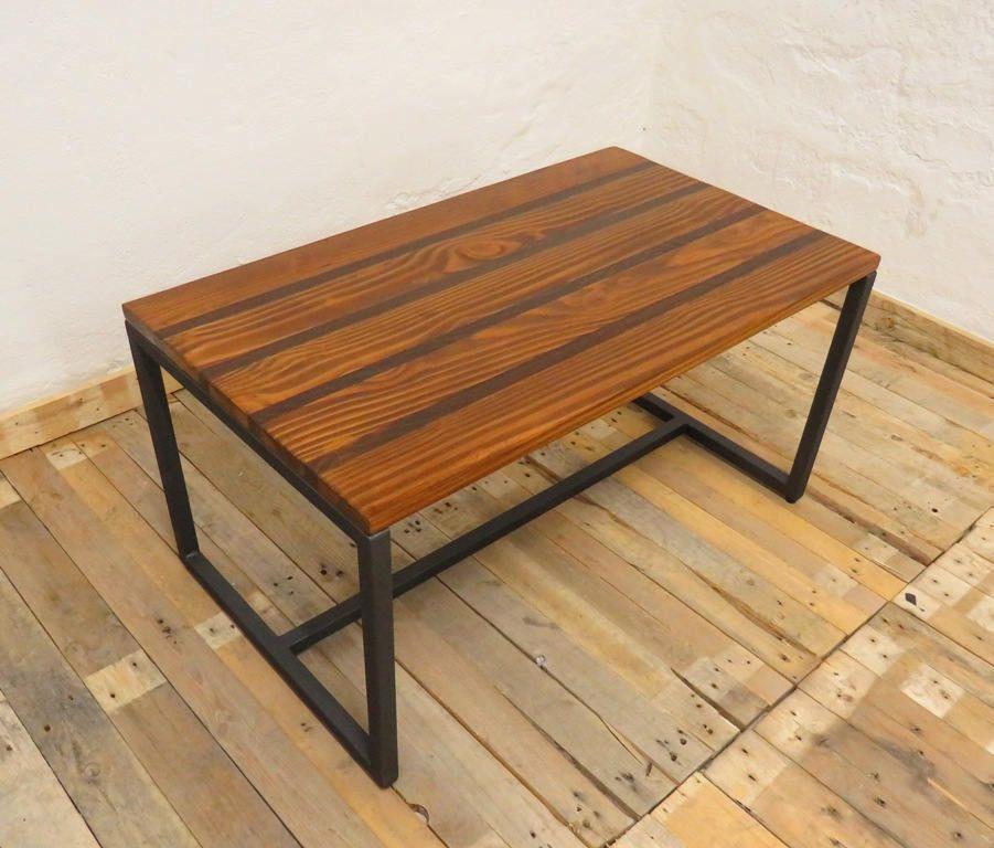 Tavolo in legno con intarsi, tavolino per soggiorno di ...