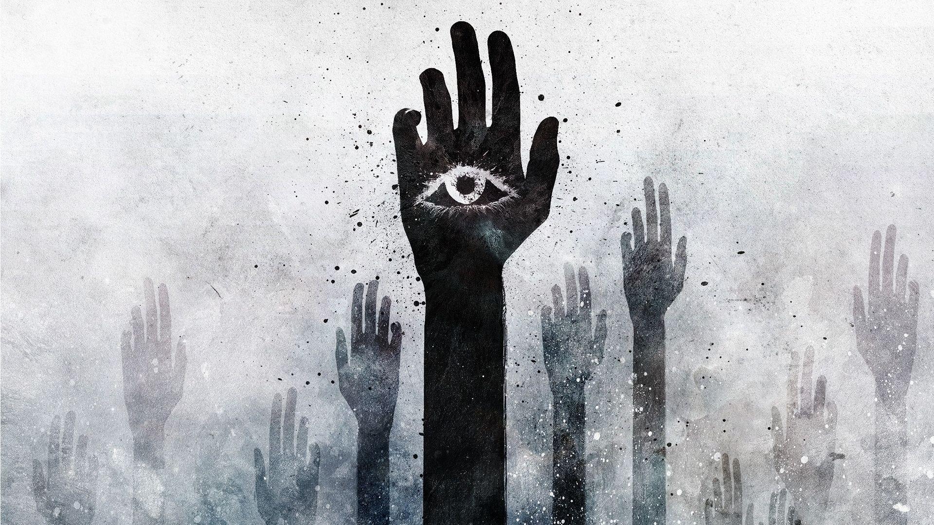 Hand Eye Hamsa Hd Wallpaper 1920x1080