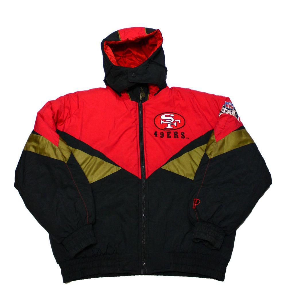 Vintage 90s Pro Player San Francisco 49ers Jacket Mens Size Large  100.00 ae4dad4c88