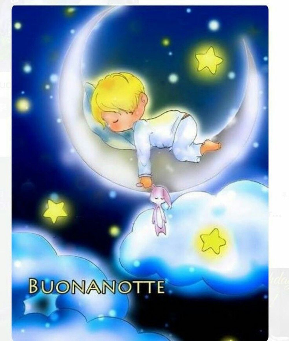 Immagini Buonanotte Belle Con Angeli Angioletti Good Night And
