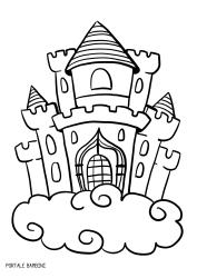 Immagini Castelli Da Colorare.Disegni Di Castelli Da Stampare E Colorare Gratis Portale Bambini Castelli Castle Coloring Coloringpages C Disegno Di Castello Disegni A Mano Castelli