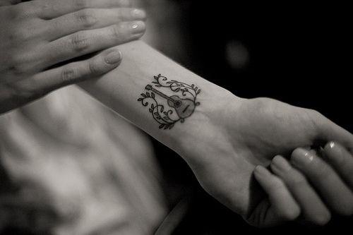 Pin By Erinjo74 On Tattoo Ideas Music Tattoo Designs Tattoos For Women Guitar Tattoo Design
