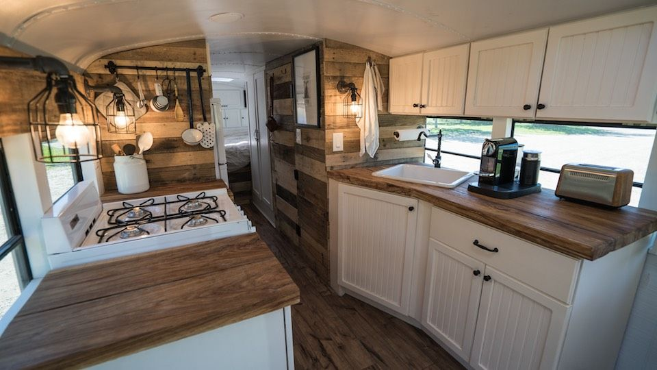Expedition Happiness Bus Remodel Bus House School Bus Rv
