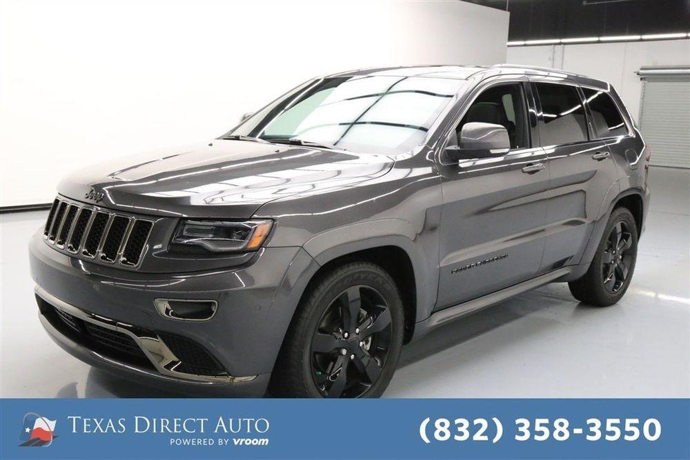 Ebay 2015 Jeep Grand Cherokee High Altitude Texas Direct Auto