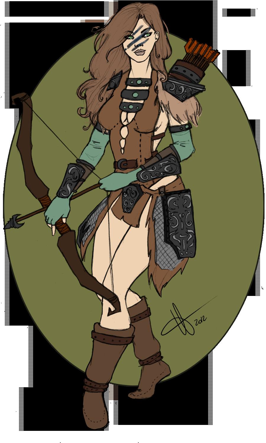 Aela The Huntress Elder Scrolls Elder Scrolls Skyrim Skyrim Art