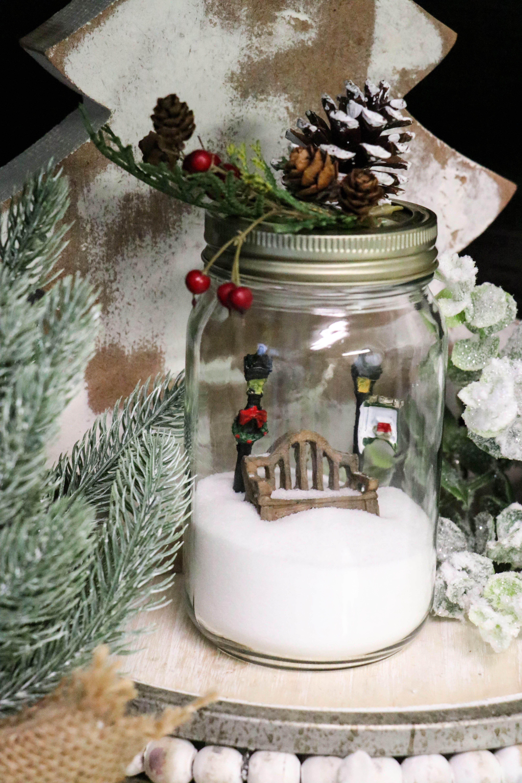 Diy Dollar Tree Jar Globe Re Fabbed In 2020 Diy Dollar Tree Gifts Dollar Tree Diy Dollar Tree Mason Jars