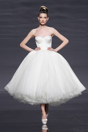 vestido de novia corto epico de rosa clara - vestidos de novia