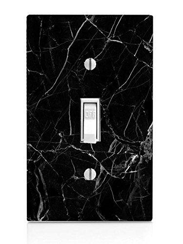 Black Marble Background Pattern Light Switch Plate Moonli Https Www Amazon Com Dp B01h Marble Background Pattern Black Marble Background Marble Background