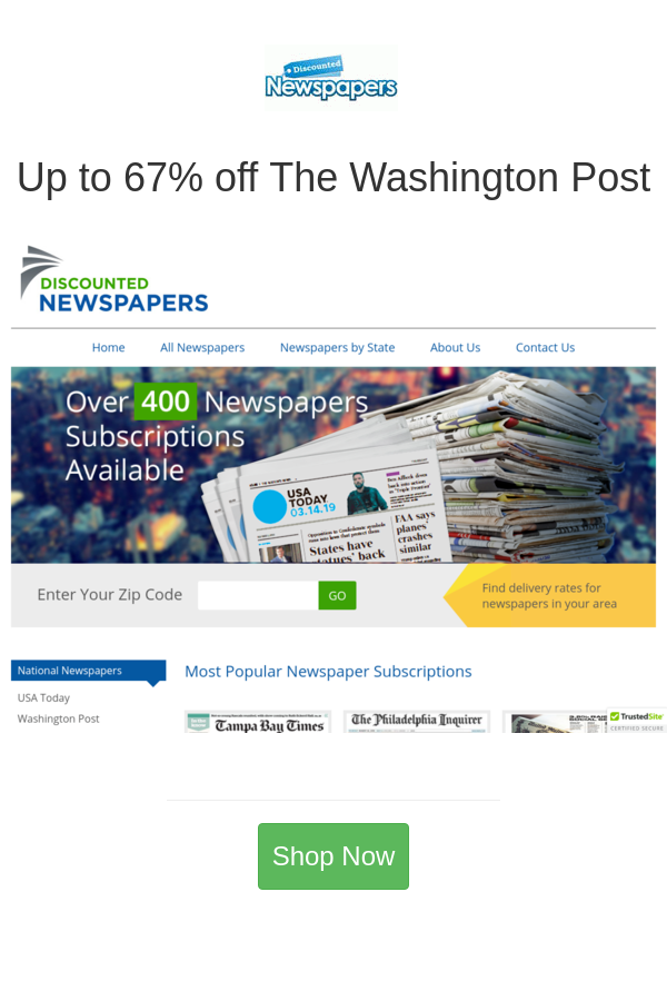 Best Deals And Coupons For Discounted Newspapers In 2020 Newspapers Newspaper Coupon Newspaper Subscription