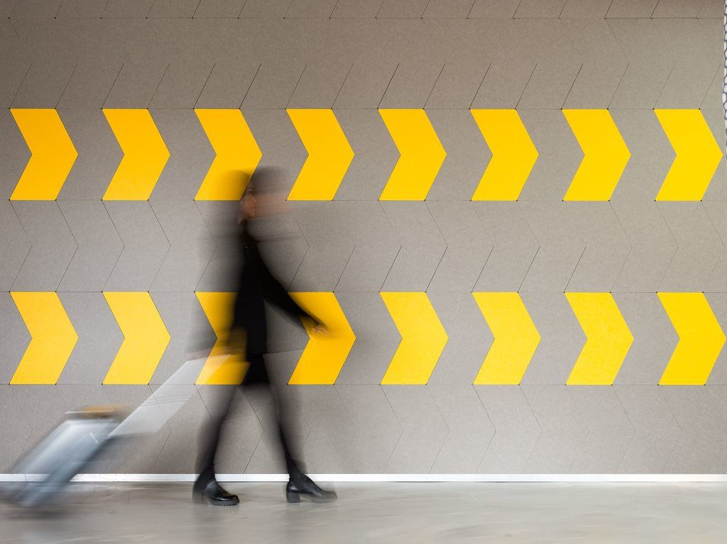 Decorative acoustic tiles from Woven Image | Architecture And Design ...