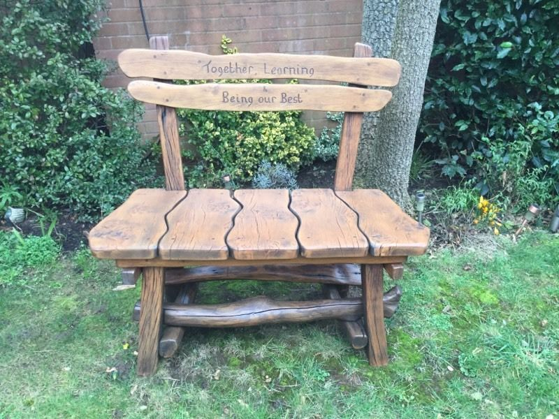 Garden bench sanding and re-staining service. Free quotes in the ...
