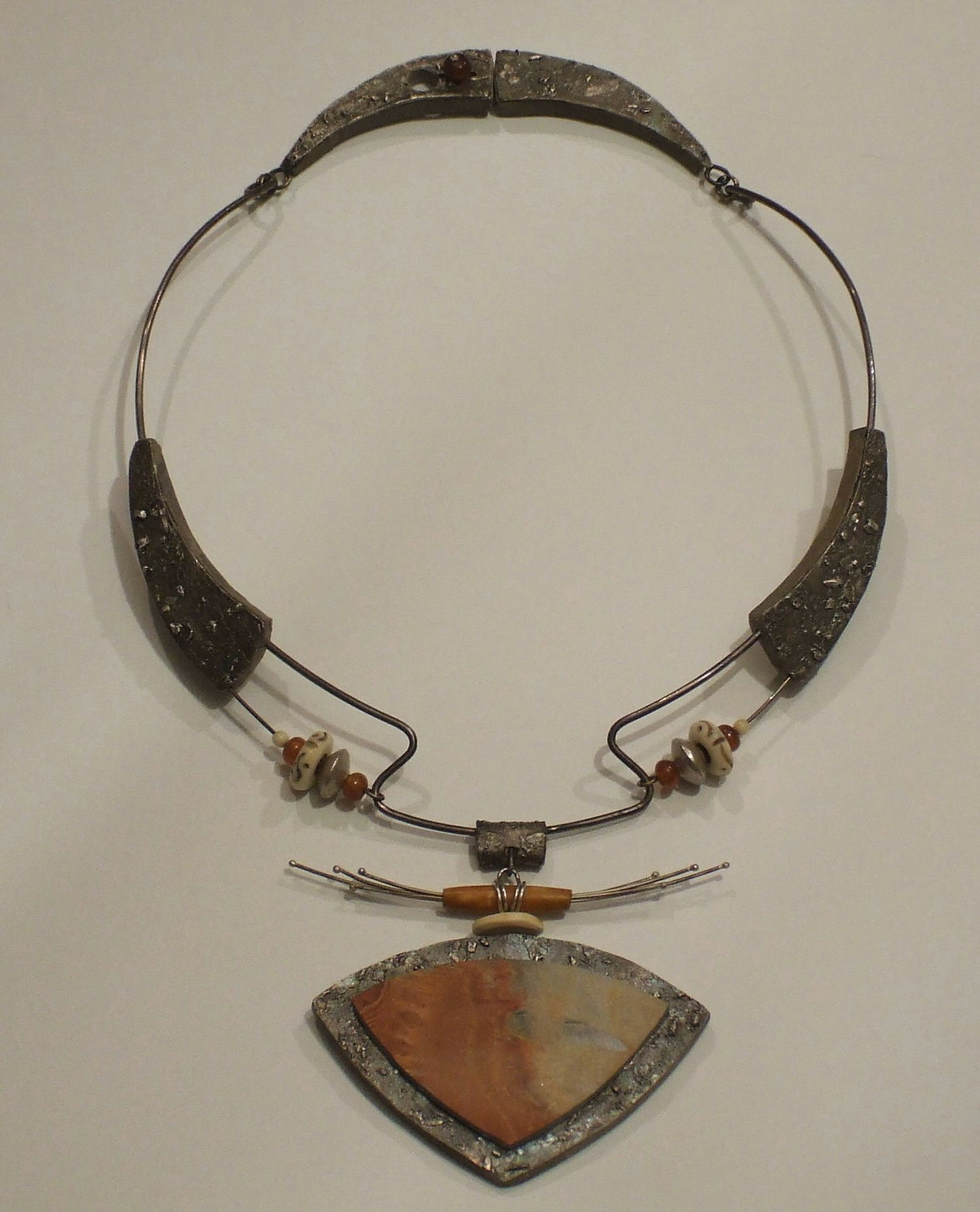 Necklace Marlee Page Floating World Design Mixed Media