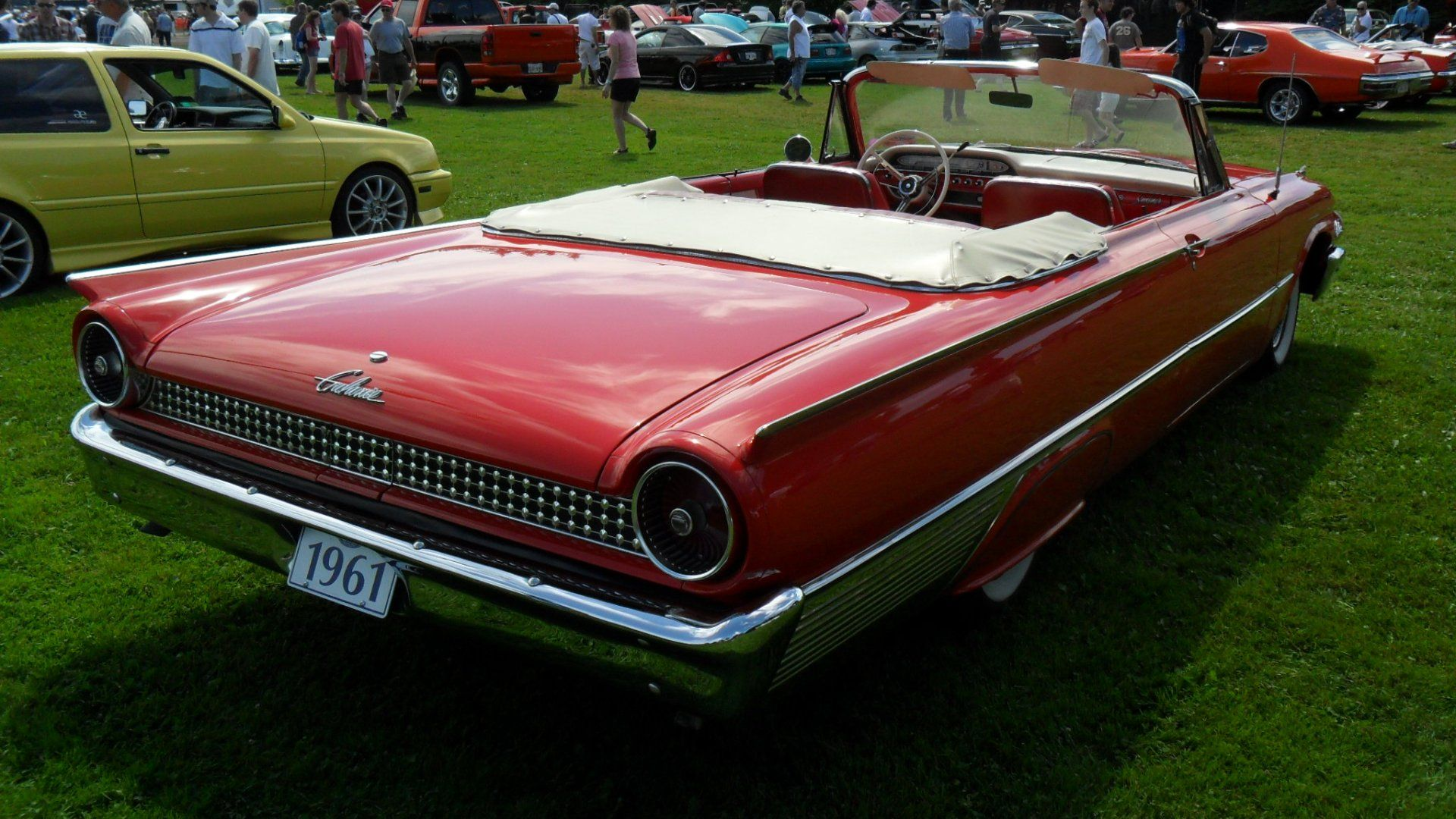 1961 ford galaxie convertible