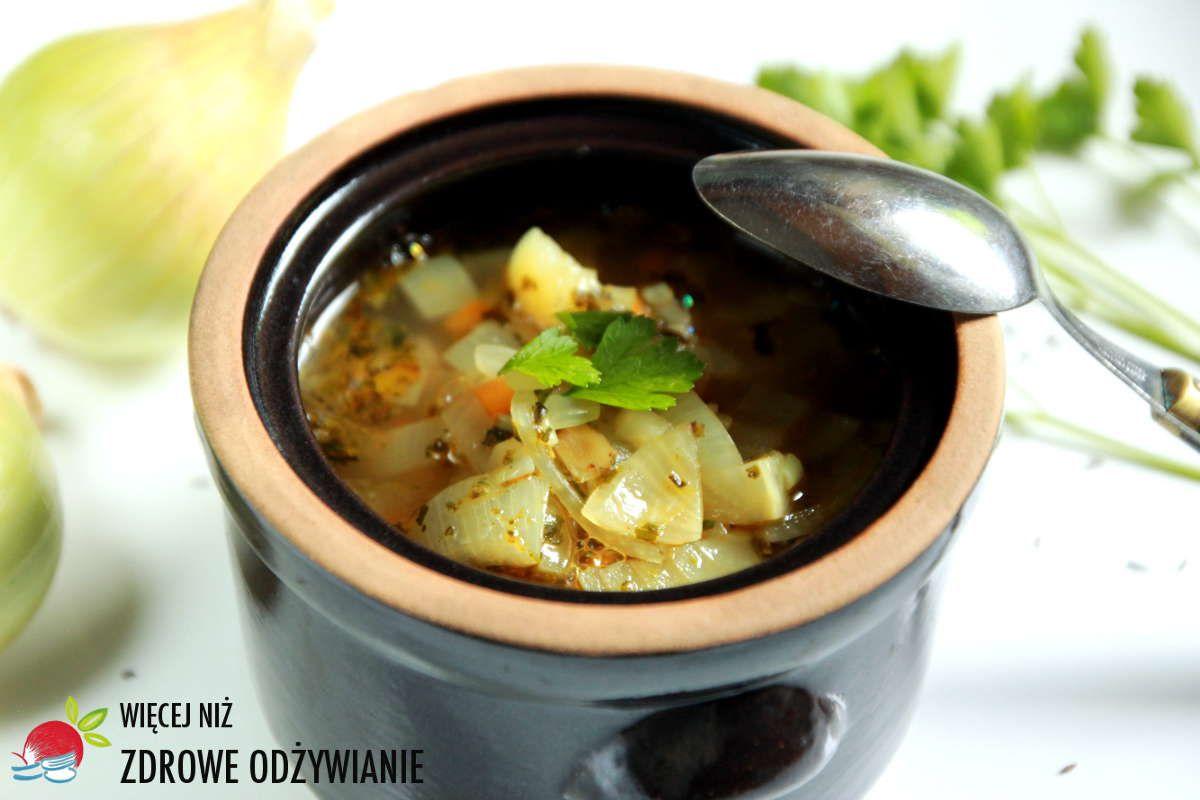 Super Zdrowa Zupa Cebulowa Prosty Przepis Na Szybka I Zdrowa Zupe Zdrowe Przepisy Proste Przepisy Zdrowa Kuchnia Zdrowe Odzywianie Soup