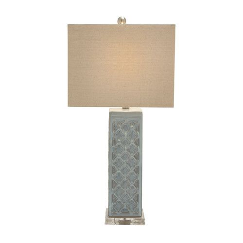 """Found it at Wayfair - Simsbury 29"""" H Table Lamp with Square Shade"""