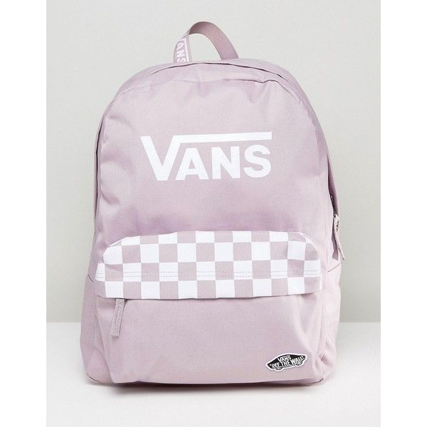 d5f92ee39a Vans Sporty Realm Backpack In Lilac (56 CAD) ❤ liked on Polyvore featuring  bags, backpacks, purple, sport backpack, star backpack, retro backpacks, ...