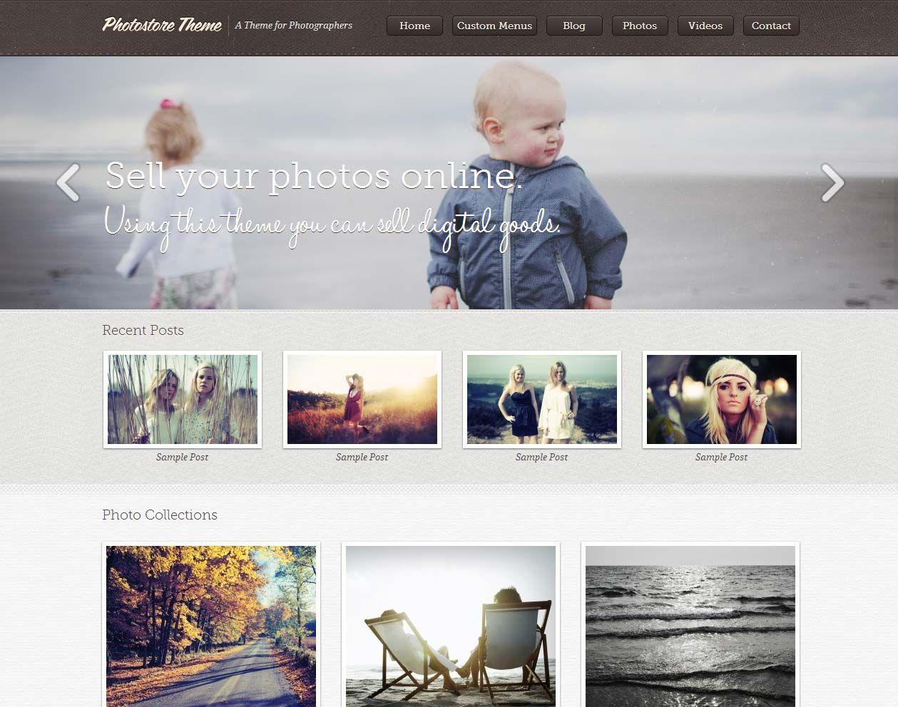 25+ Photography Portfolio WordPress Themes 2021 - WPKlik