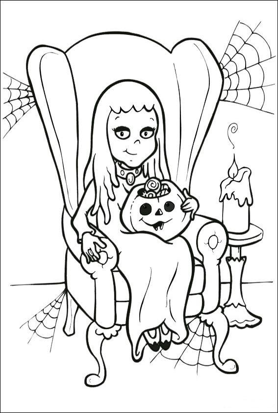 Malvorlagen Halloween-16 | Schule | Pinterest | Malvorlagen ...