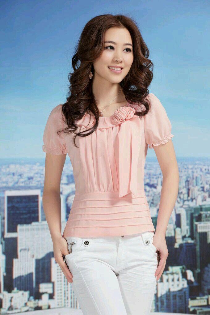 Pin de Priscila Ortega en Moda   Pinterest   Blusas, Camisas y ...