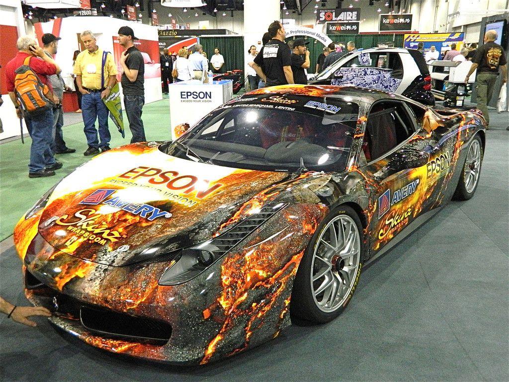 Lava Wrap Car Lettering Art Cars Car Wrap Design