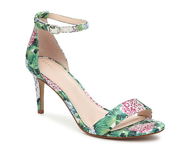 c2892ed6680 Women Kirstie Sandal -Green Pink Floral Satin