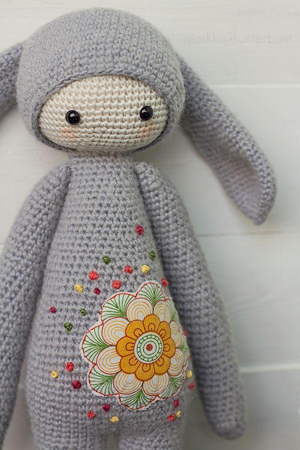 Cute amigurumi: Rita by glasklar+kunterbunt | In LoVe with crochet