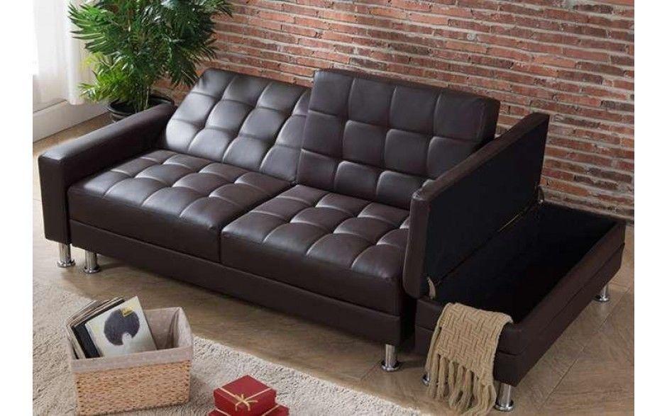 Amazing 2 3 Seater Faux Leather Sofa Bed Modern Couch W Storage Inzonedesignstudio Interior Chair Design Inzonedesignstudiocom