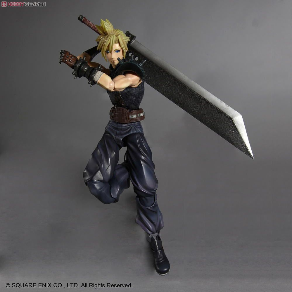 Dissidia Final Fantasy Play Arts PVC Figure - We only have the Advent Children version...