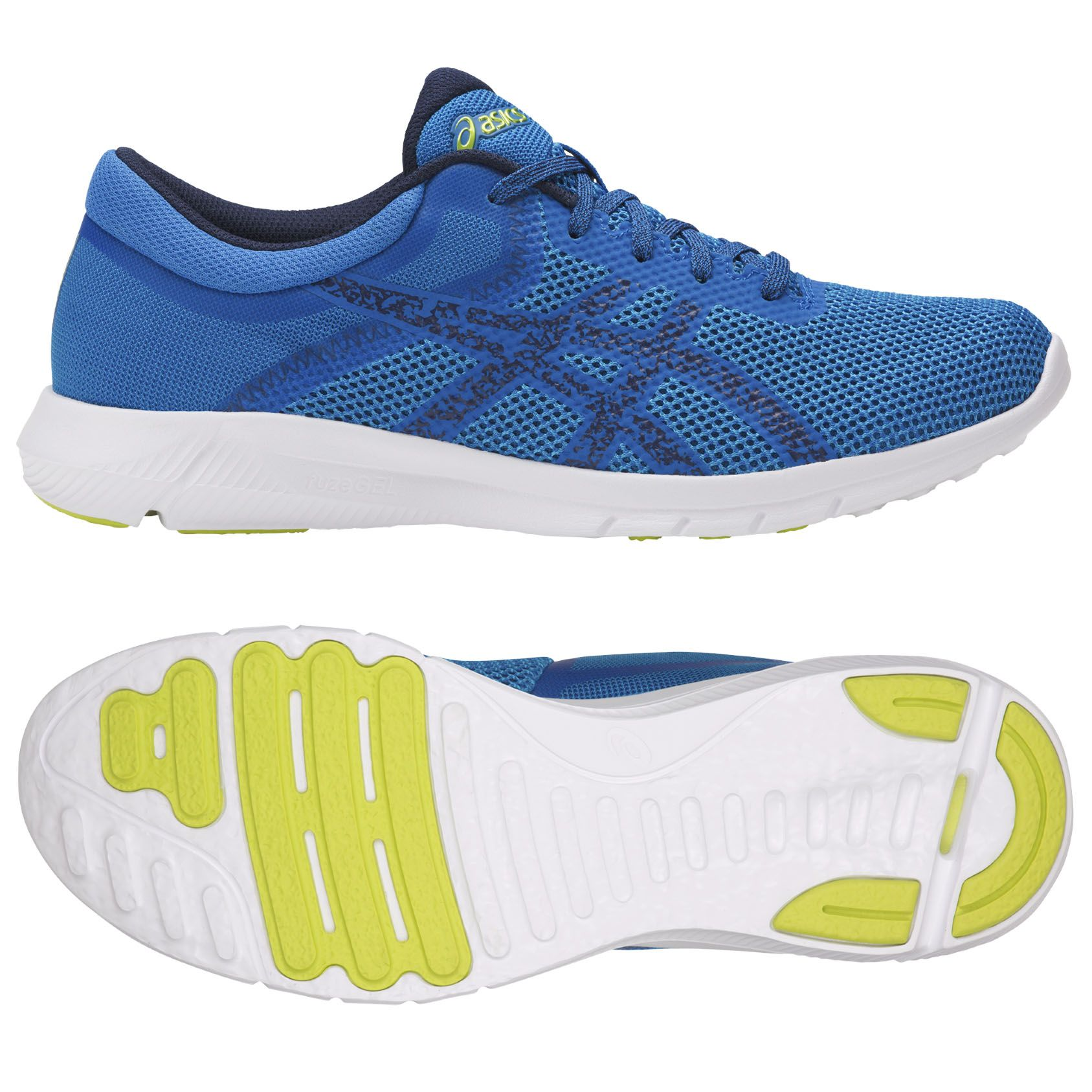 Asics Nitrofuze 2 Mens Running Shoes Blue 10 Uk Asics Nitrofuze 2 Mens Running Shoes Blue 10 Uk Super Light Running Shoes For Men Blue Shoes Man Running